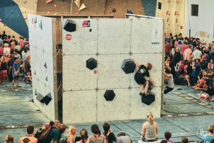 Un meudonnais aux championnats de france d'escalade avec Agrippine – Laurence Bichon
