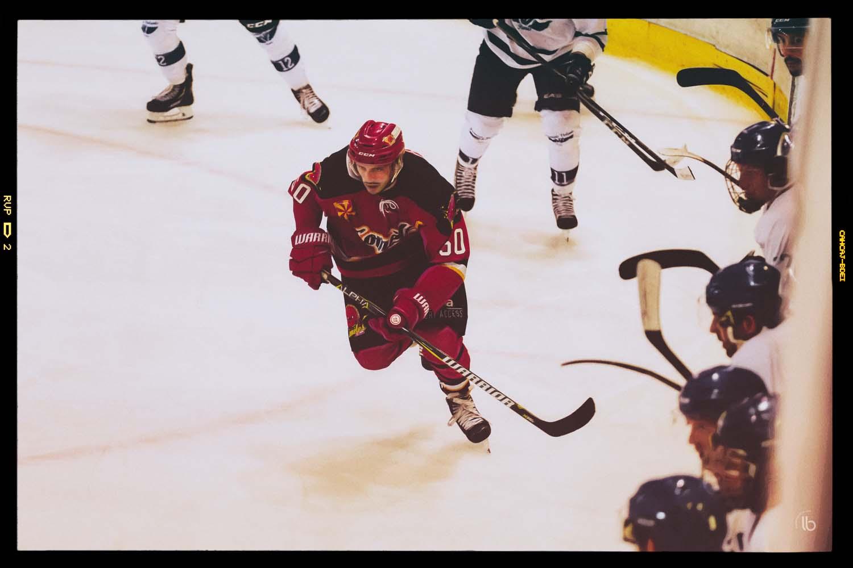 Hockey sur glace - D2 - Meudon Comètes face à Paris Francais Volants - photographe Laurence Bichon